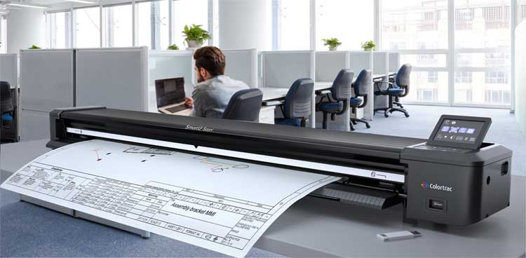 large format document scanner